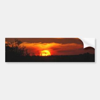 Sunset Reminder Bumper Sticker