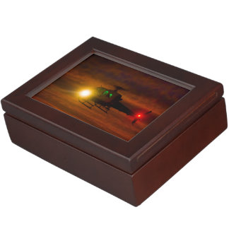 Sunset Rescue Keepsake Box