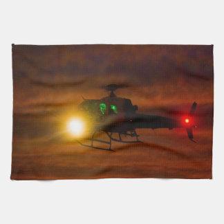 Sunset Rescue Tea Towel