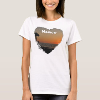 Sunset Resting Spot; Mexico Souvenir T-Shirt