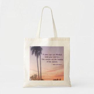 Sunset Reusable Tote Tote Bag