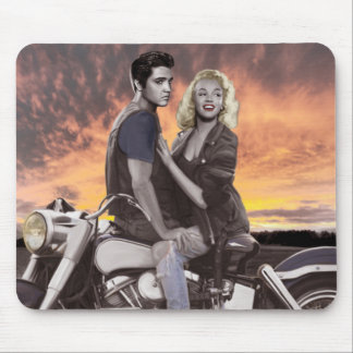 Sunset Ride Mouse Pad