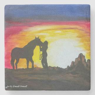 Sunset ride stone coaster