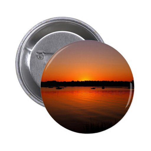 Sunset Ripples Reflected Pins