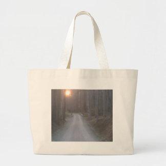 Sunset Road Jumbo Tote Bag
