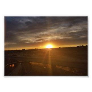 Sunset Road Print Art Photo