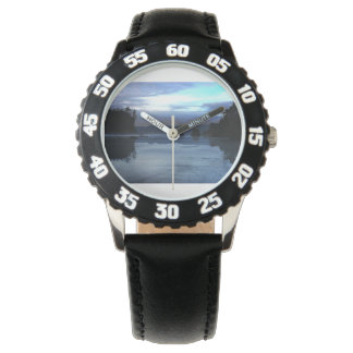 Sunset Ruby Beach in Olympic National Park Wristwatch