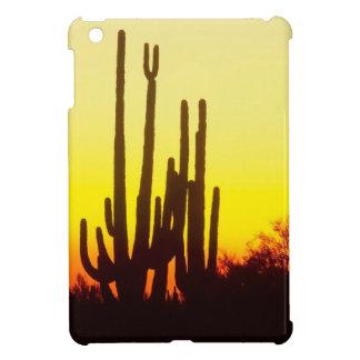 Sunset Saguaro Cactus Arizona iPad Mini Cases