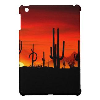 Sunset Saguaros Sonoran Desert Arizona iPad Mini Covers