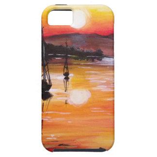 Sunset Sail Tough iPhone 5 Case
