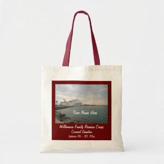 Sunset Sailing Custom Cruise Swag Tote Bag