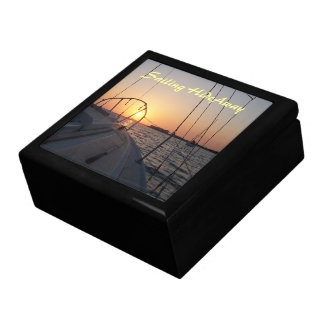 Sunset Sailing Trinket Box