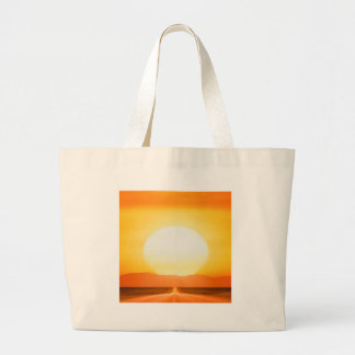 Sunset Savage Road Canvas Bags