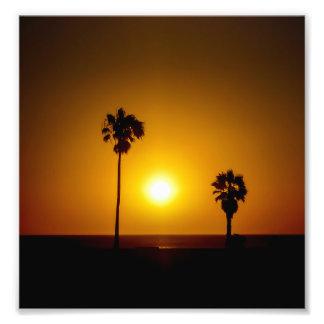Sunset Scene Photo Print
