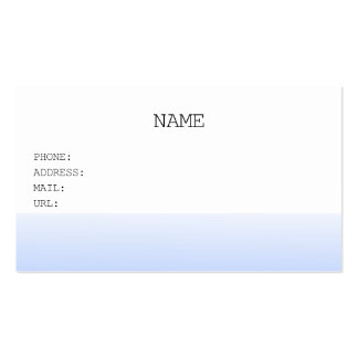 sunset sea business card