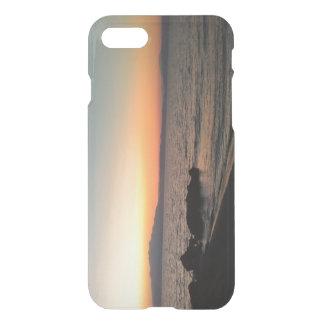 Sunset Sea Custom iPhone 7 Clearly™ Deflector Case