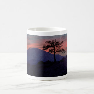 Sunset Sentinel Coffee Mug