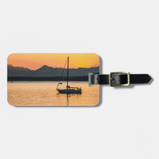 Sunset Serenity Tag For Bags