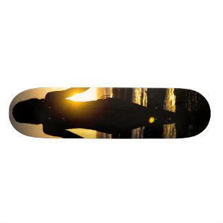 Sunset Silhouete Skateboard