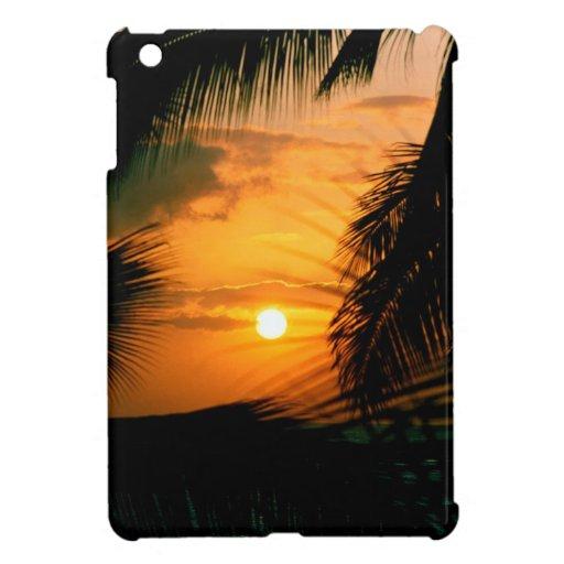 Sunset Silhouette Hawaii Case For The iPad Mini