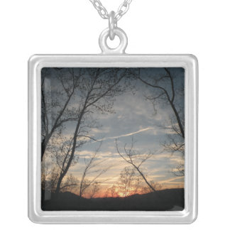 Sunset Silhouette Necklace