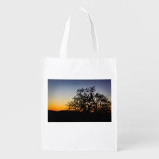 Sunset Silhouette Reusable Bag