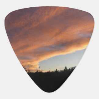 Sunset Sky Guitar Pick