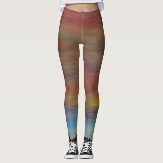 Sunset Sky Leggings
