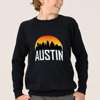 Sunset Skyline of Austin TX Sweatshirt