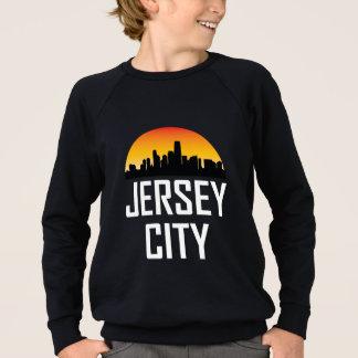 Sunset Skyline of Jersey City NJ Sweatshirt