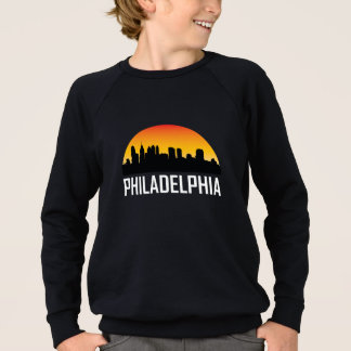 Sunset Skyline of Philadelphia PA Sweatshirt