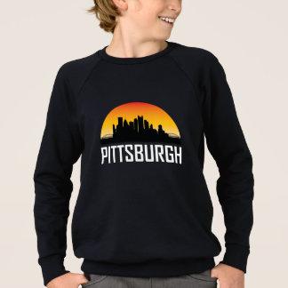 Sunset Skyline of Pittsburgh PA Sweatshirt
