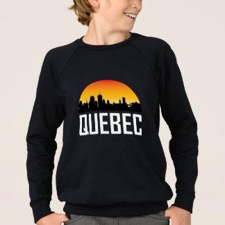 Sunset Skyline of Quebec QC Sweatshirt