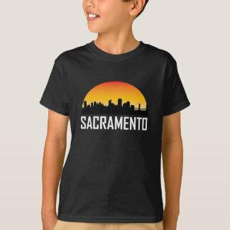 Sunset Skyline of Sacramento CA T-Shirt