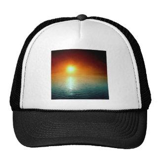 Sunset Slowly Setting Trucker Hats