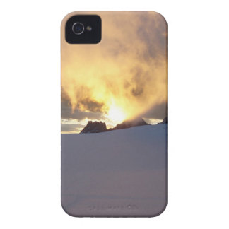 Sunset Snowcapped iPhone 4 Case