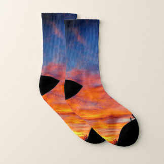 Sunset Socks 1