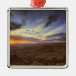 Sunset, south rim of the Grand Canyon, Grand Christmas Ornaments