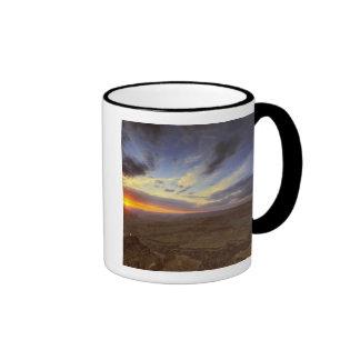 Sunset, south rim of the Grand Canyon, Grand Coffee Mug