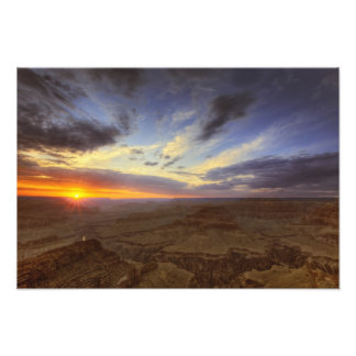 Sunset, south rim of the Grand Canyon, Grand Photograph