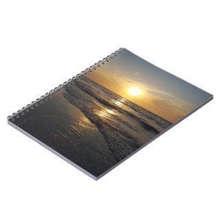 Sunset Spiral Note Books