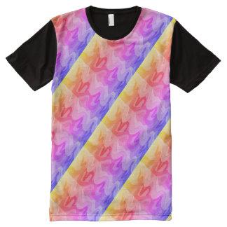 sunset squiggle shirt