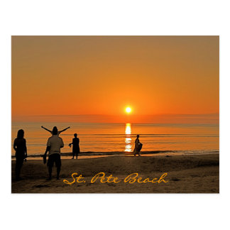 Sunset - St. Pete Beach Postcard