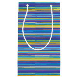 sunset stripes gift bag
