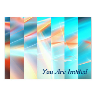 Sunset Strips 13 Cm X 18 Cm Invitation Card