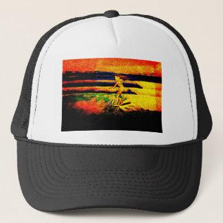 Sunset Surfer Trucker Hat Noseride Cali