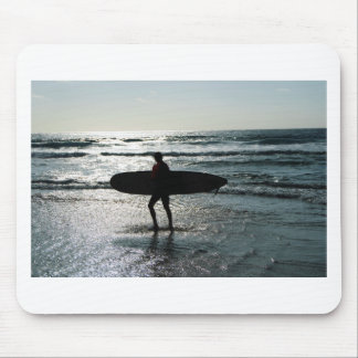 Sunset Surfing Mousepad