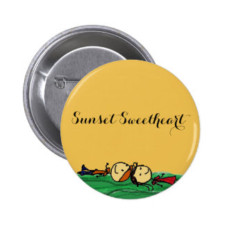 Sunset Sweetheart Pin