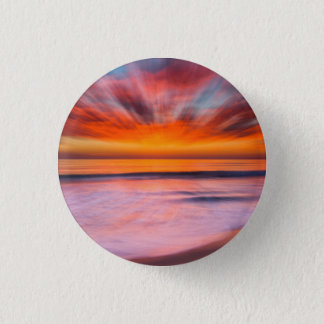 Sunset Tamarack Beach | Carlsbad, CA 3 Cm Round Badge