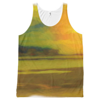 Sunset Tank All-Over Print Tank Top